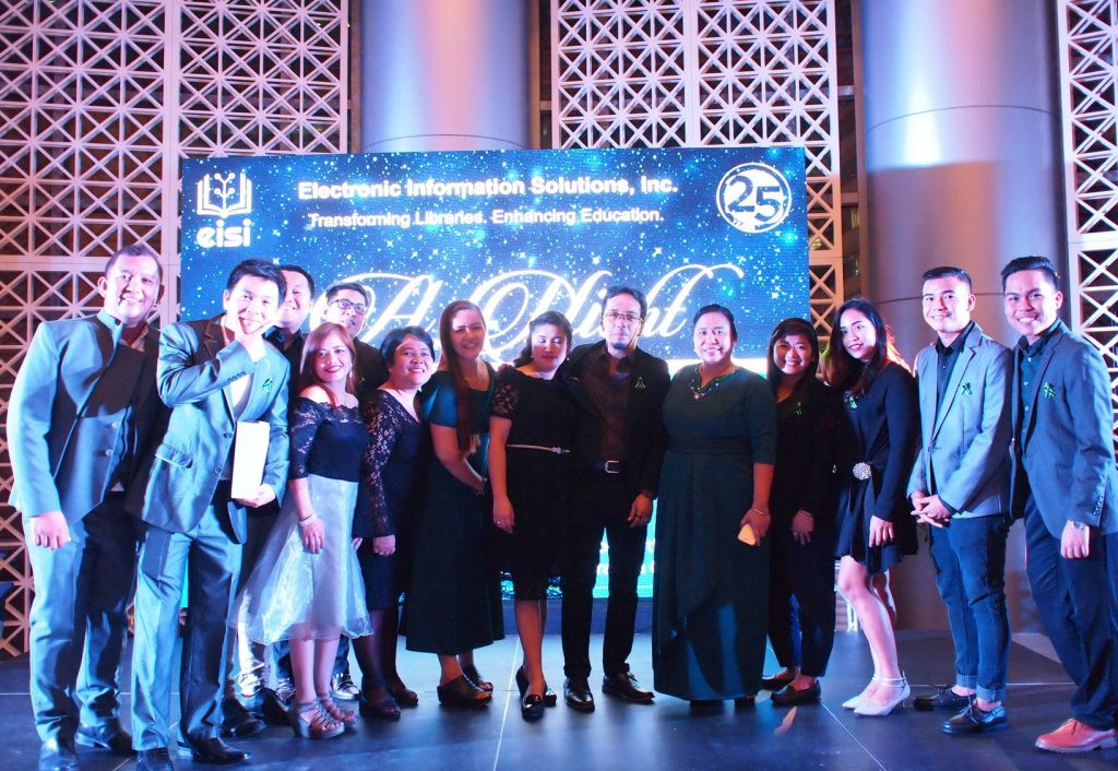 "EISI - the leader in Philippine Library Automation - ""A night with you"" event"
